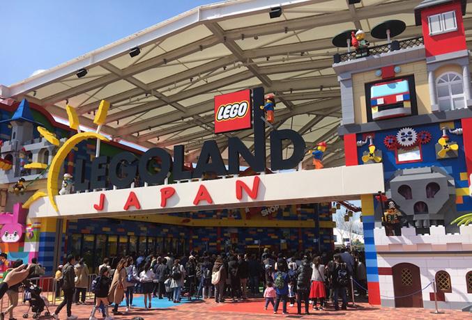 LEGOLAND JAPANに当社製造の不燃化粧板が採用1